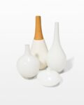 Front view thumbnail of Flake Accent Vase Set
