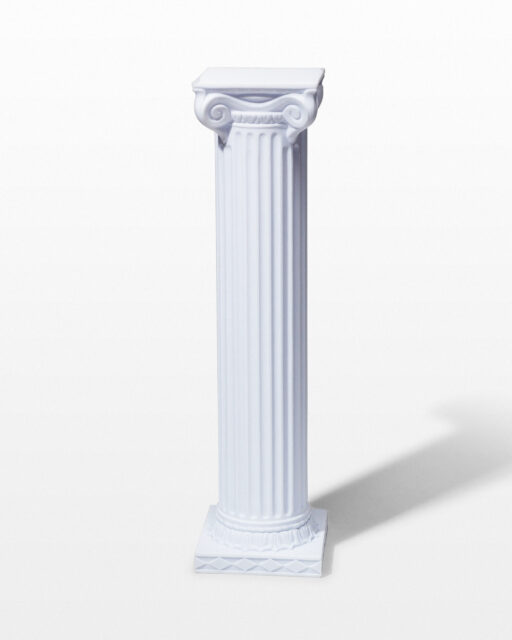 "Front view of Dover 39"" Ionic Column"