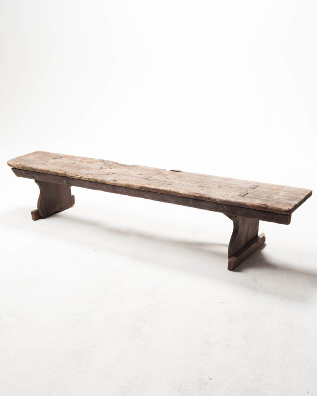 Front view of Stout Barn Bench