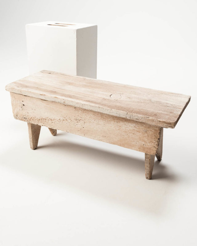Front view of Horsby Bench