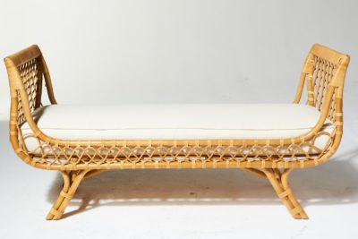 Alternate view 1 of Preston Rattan Lounge Bench