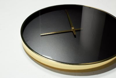 Alternate view 1 of Henry Black and Gold Wall Clock