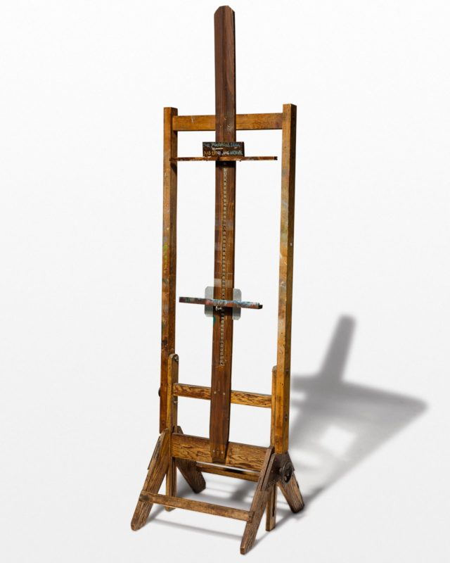 Front view of Pablo Artist Easel
