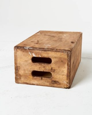 Front view of Daniel Distressed Full Apple Box