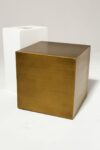 "Alternate view thumbnail 1 of 16"" Brushed Bronze Cube"