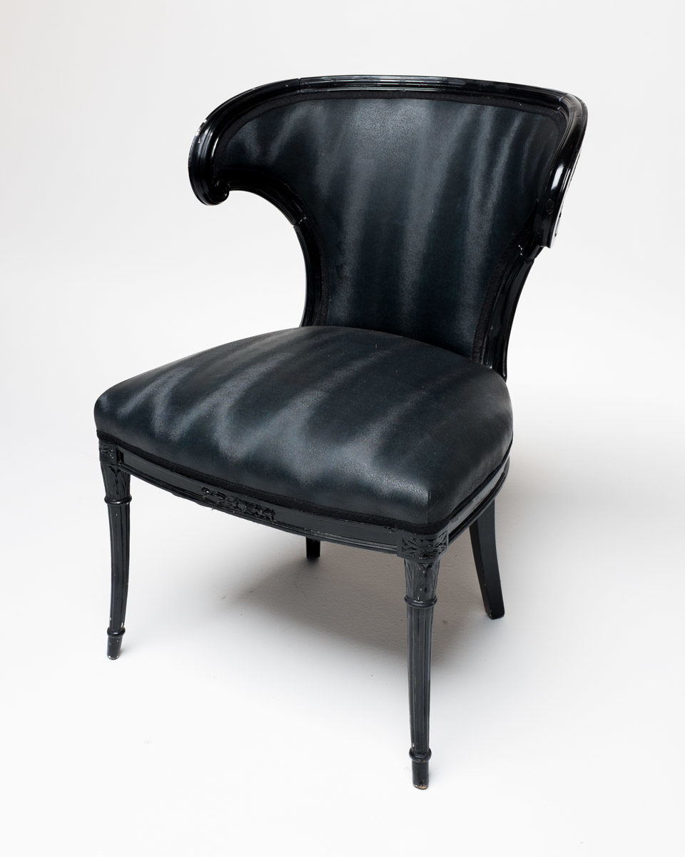 Front view of Smooth Upholstered Chair