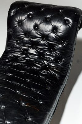 Alternate view 6 of Black Leather Lounge