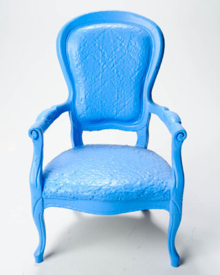 Alternate view 1 of Paintable Tall Louis XIV Chair