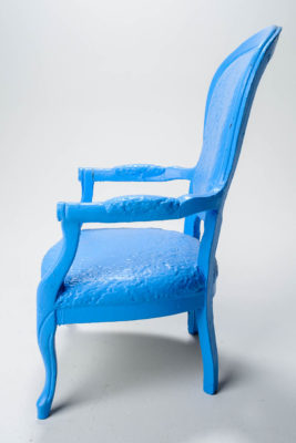 Alternate view 2 of Paintable Tall Louis XIV Chair