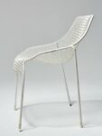 Alternate view thumbnail 4 of White Link Chair