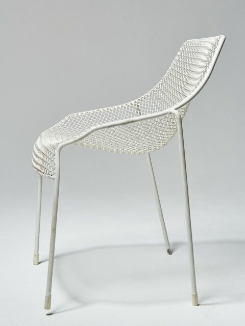 Alternate view 4 of White Link Chair