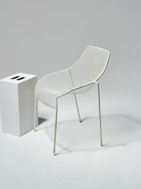 Alternate view 1 of White Link Chair