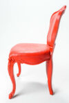 Alternate view thumbnail 2 of Paintable Armless Louis XIV Chair