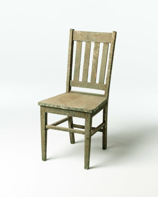 Front view of Max Distressed Chair