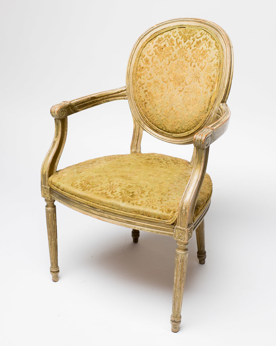 Front view of Ornate Pattern Chair