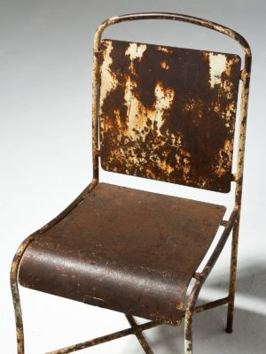 Alternate view 2 of Rusted Metal Chair