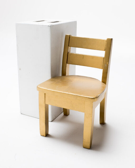 Front view of Miniature Chair