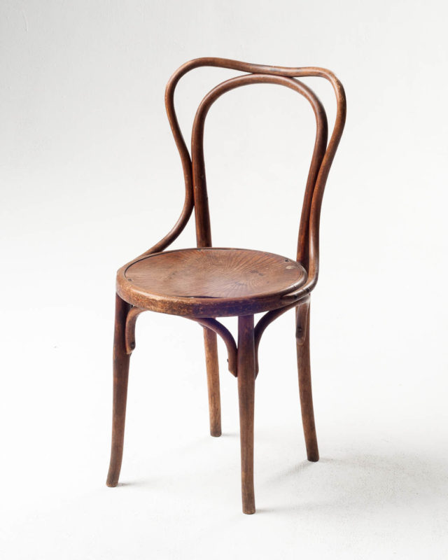 Front view of Henri Cafe Chair