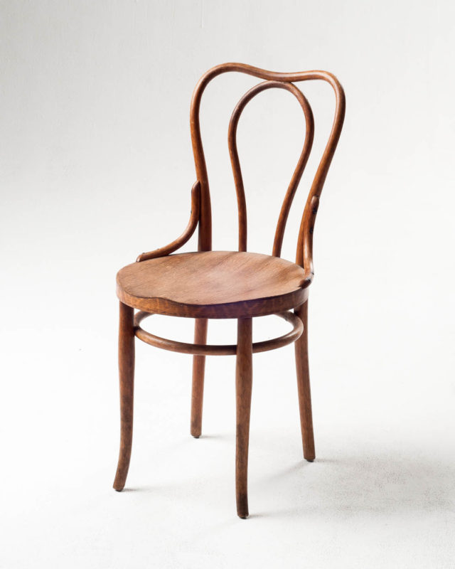 Front view of Colette Cafe Chair