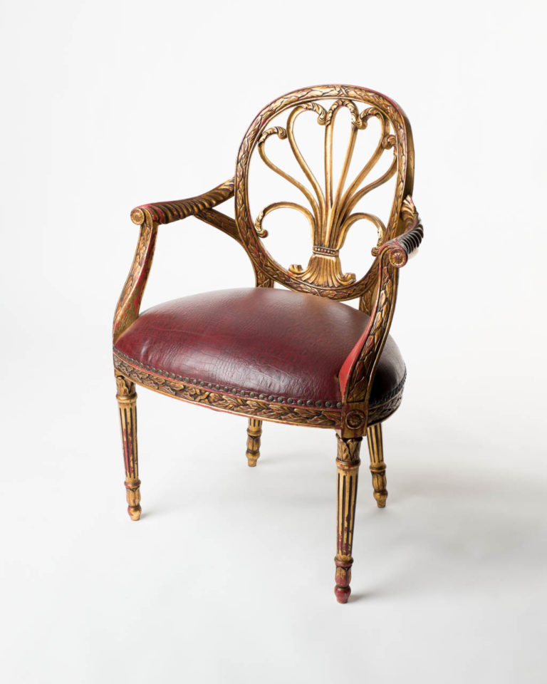 Front view of Arthur Opulent Chair