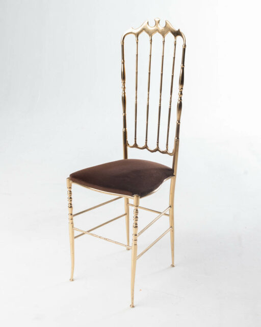 Front view of Tremaine Gold Chair