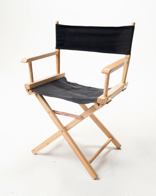 Front view of Short Director's Chair