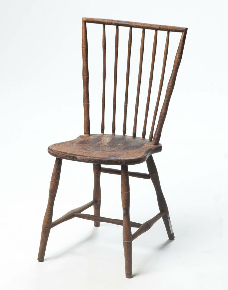 Front view of Reed Chair