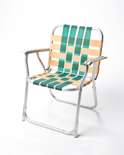 Front view of Weave Lawn Chair