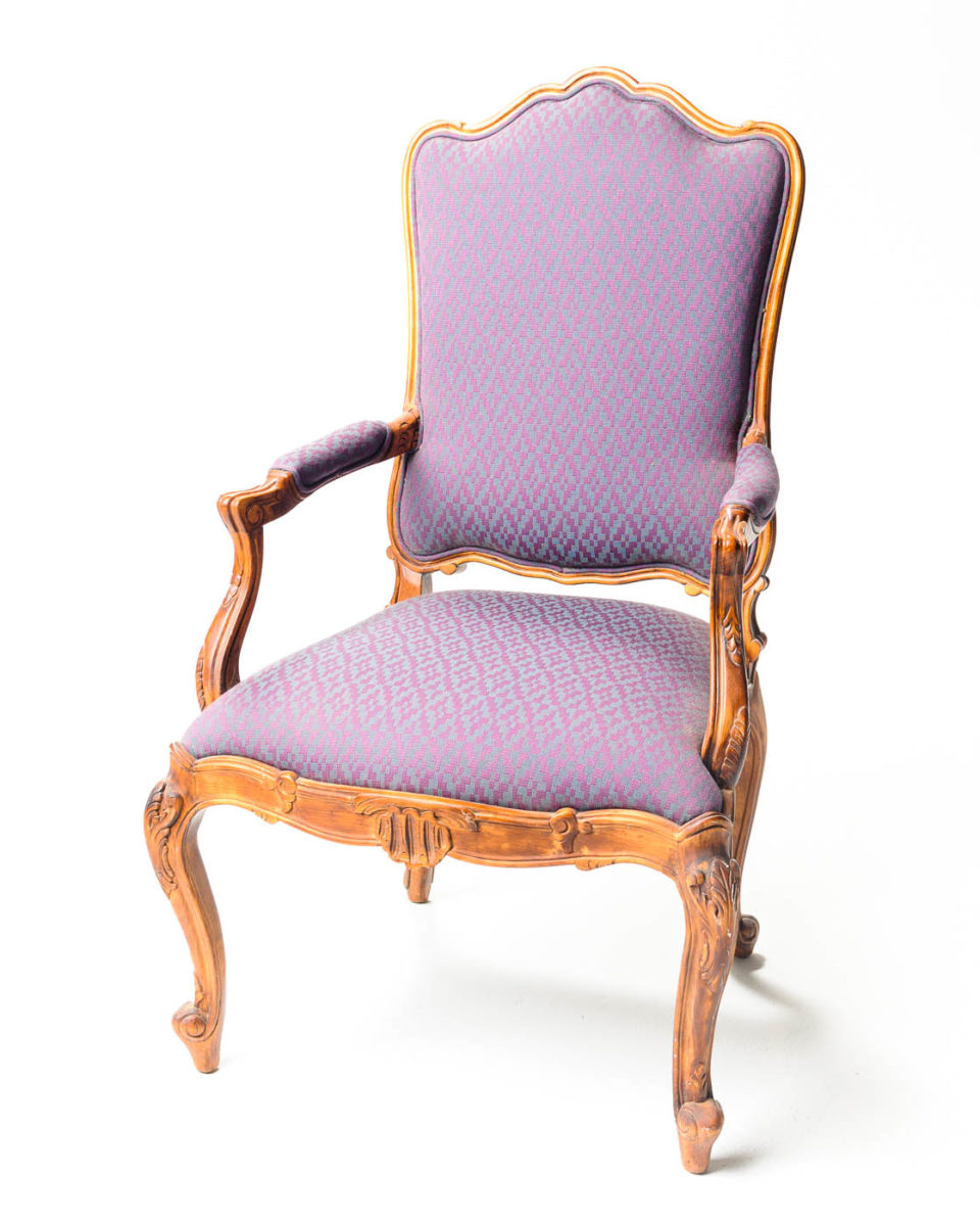 Front view of Crown Chair