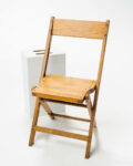 Front view thumbnail of Blonde Folding Chair