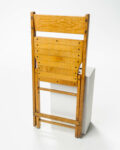 Alternate view thumbnail 1 of Blonde Folding Chair
