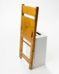 Alternate view thumbnail 2 of Blonde Folding Chair
