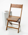 Front view thumbnail of Walnut Folding Chair