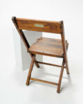 Alternate view thumbnail 1 of Walnut Folding Chair