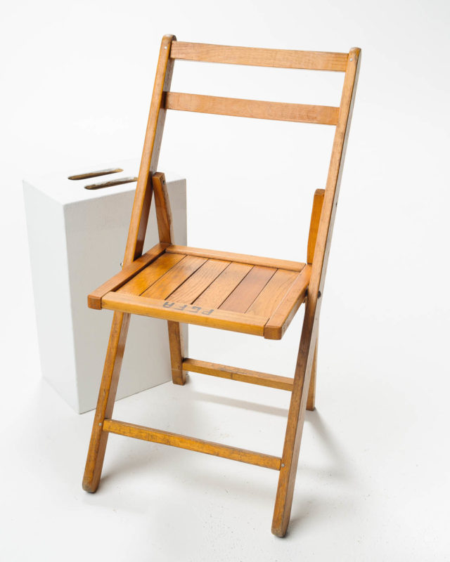 Front view of Columbia Folding Chair