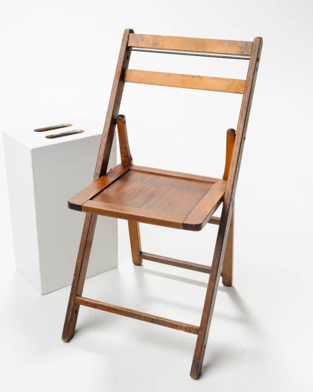 Front view of Arcadia Folding Chair