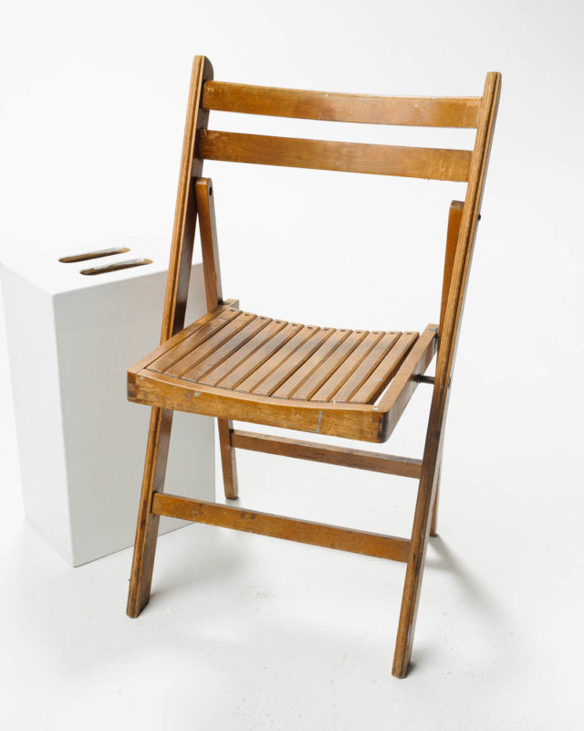 Front view of Howard Folding Chair