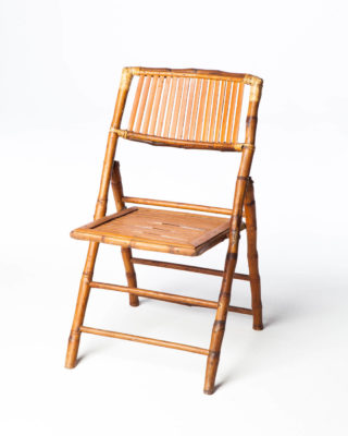 Front view of Lilo Bamboo Chair