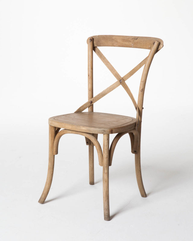Front view of Bow Hatch Chair