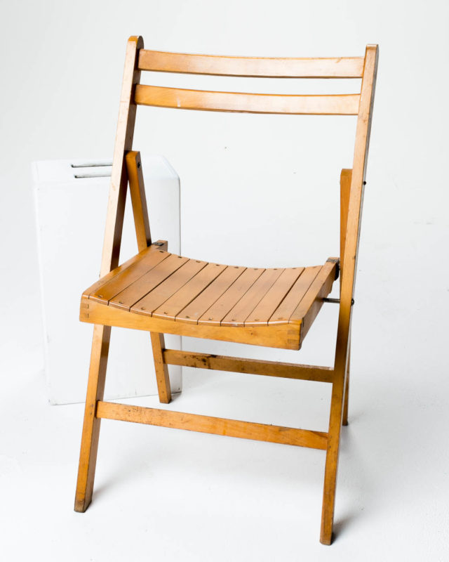 Front view of Sven Folding Chair