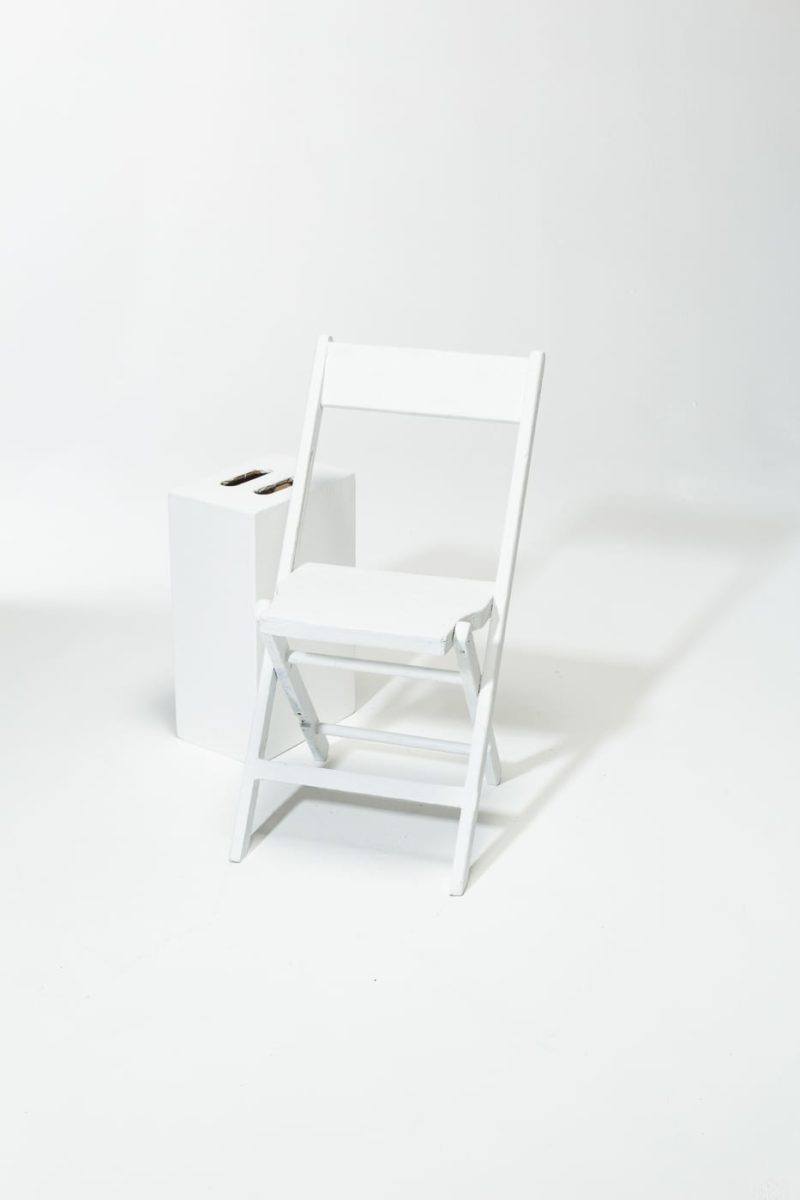 Alternate view 1 of Paintable Folding Chair