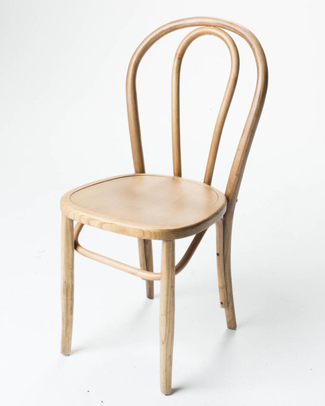 Front view of Janet Cafe Chair