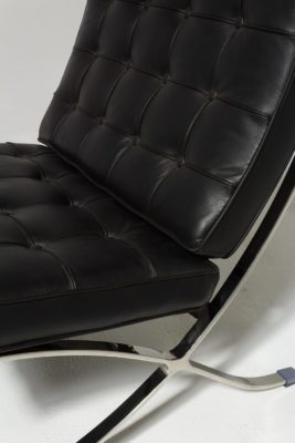 Alternate view 5 of Black Pavilion Chair with Ottoman