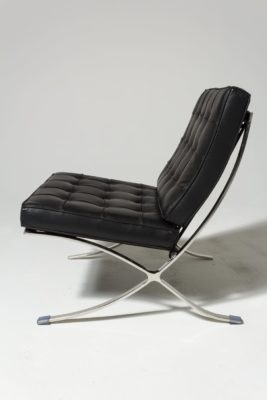 Alternate view 2 of Black Pavilion Chair with Ottoman