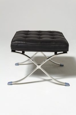 Alternate view 4 of Black Pavilion Chair with Ottoman