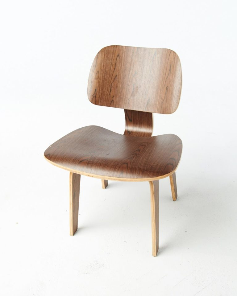 Front view of Organic Walnut Chair