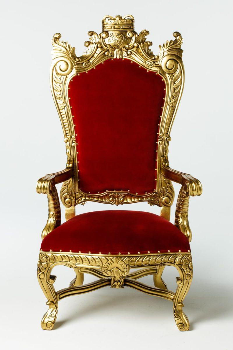 CH211 Royal Throne Prop Rental | ACME Brooklyn