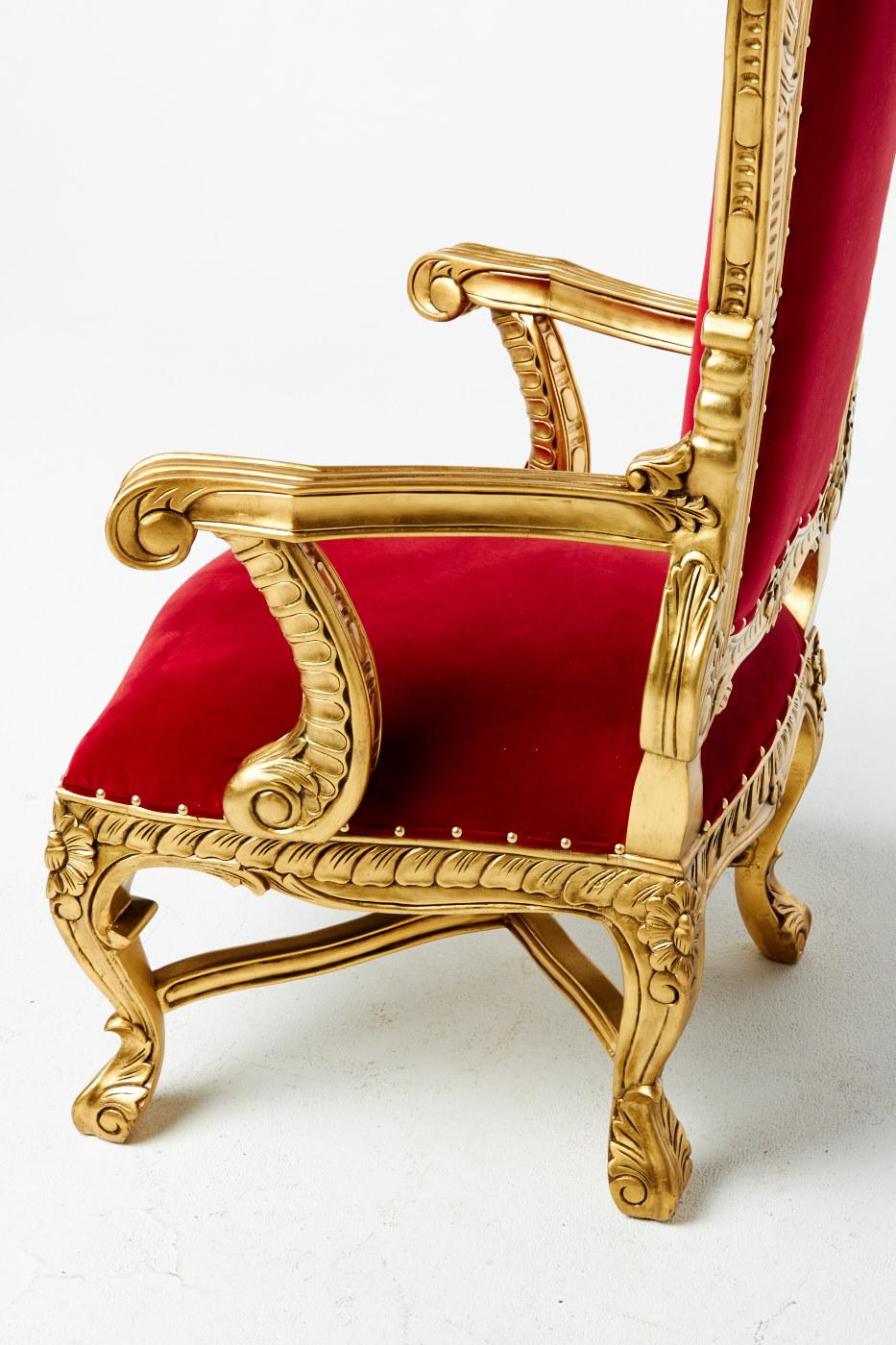 Ch211 Royal Throne Prop Rental Acme Brooklyn