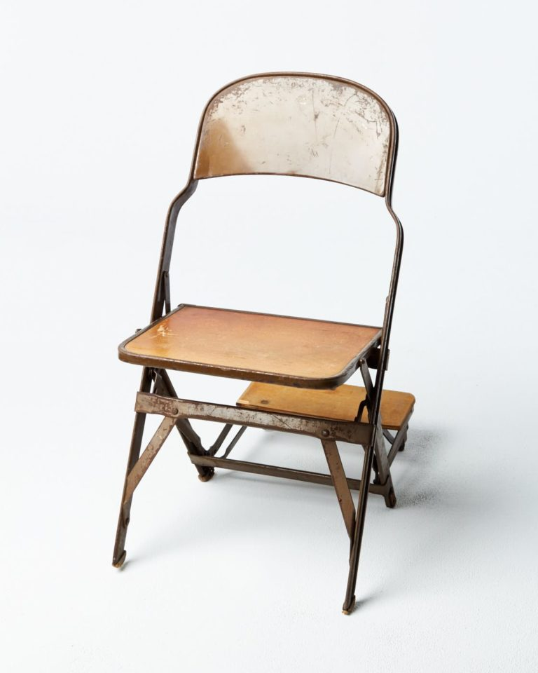 Front view of Remsen Folding Chair