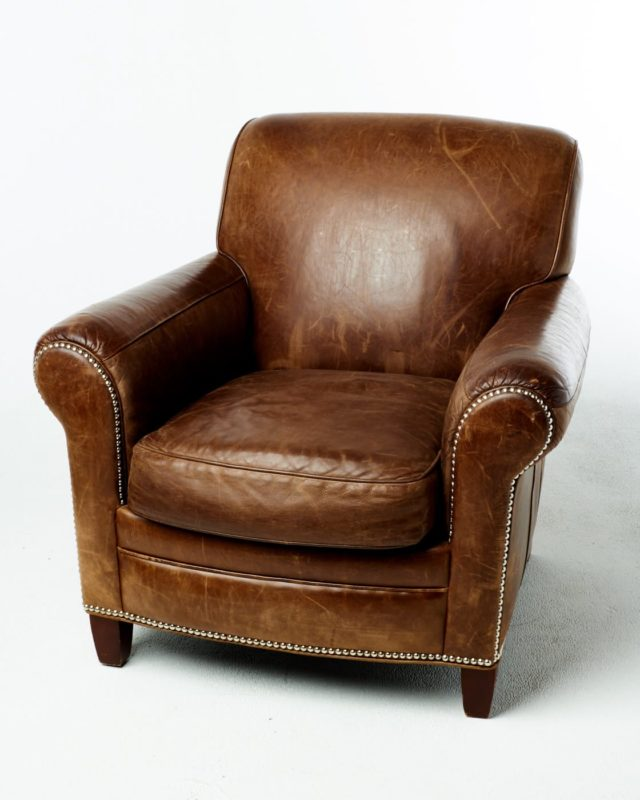 Front view of Wayne Club Chair